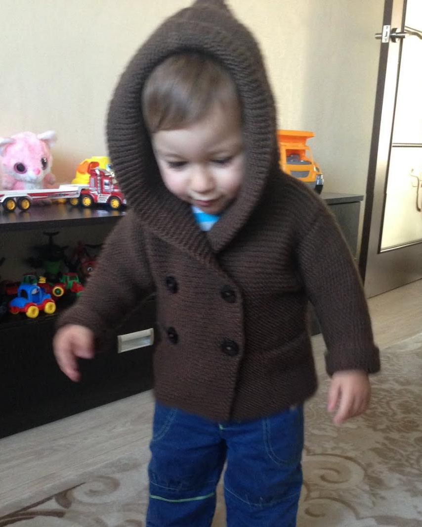 Hooded Jacket for Baby
