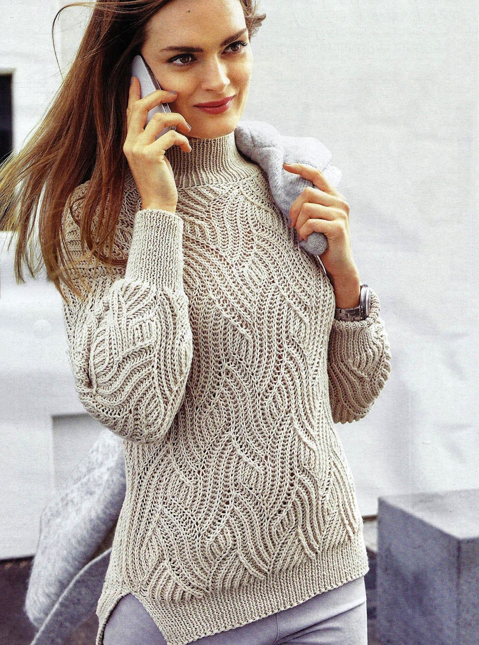 Free Knitting Patterns Brioche Stitch Sweater