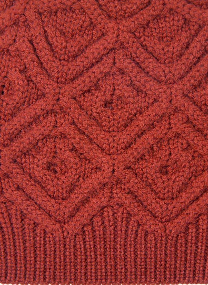 Free Knitting Patterns - Diamond Knit Stitch Pattern