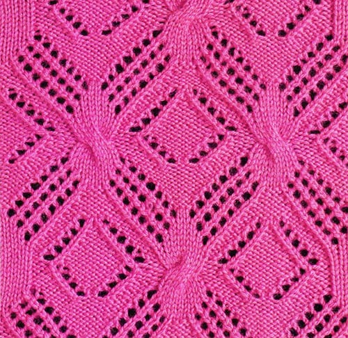 Free Knitting Patterns - Fancy Knit Stitch Pattern