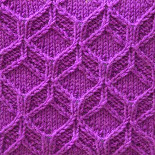 Free Knitting Patterns - Fancy Knit Stitch Pattern