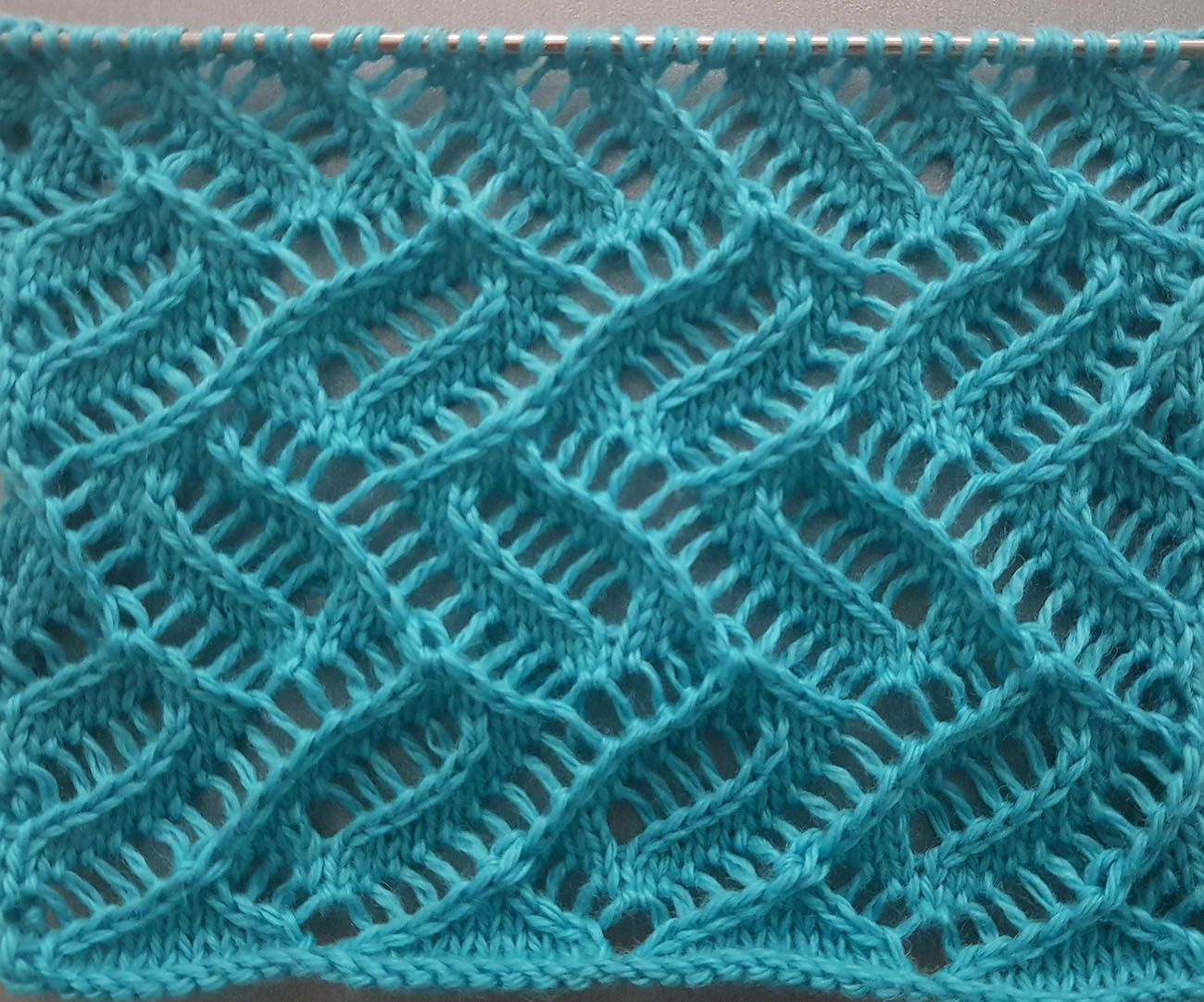 Lace Knit Stitch Pat