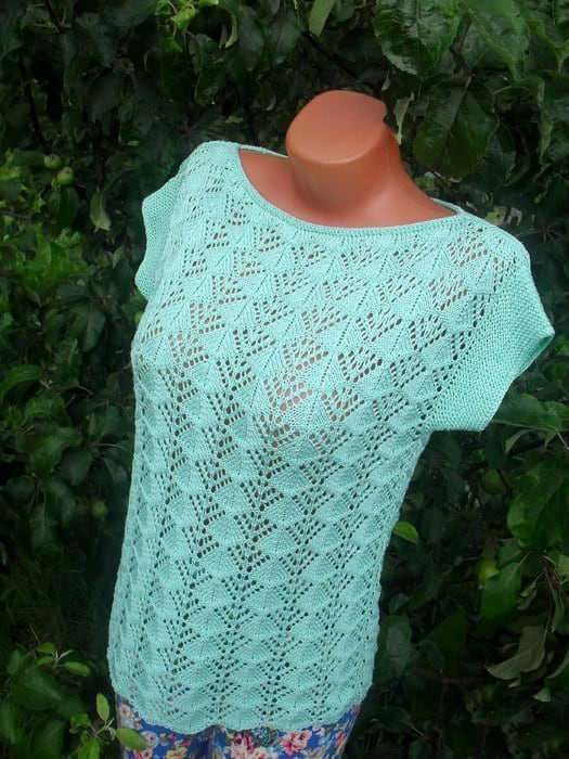 Free Knitting Patterns - Wavy Knit Stitch Pattern Cast