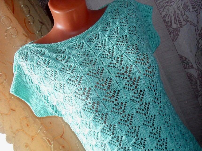 Free Knitting Patterns Wavy Knit Stitch Pattern Cast