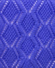 Diamond Lace Knit Stitch