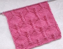 Diamond Stitch Knitting Pattern
