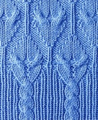 Fancy Cable Stitch Pattern