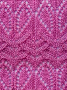 Lace Knit Stitch Pattern Cast on