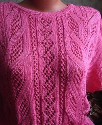 Lace Knit Pattern (for Summer Pullover)