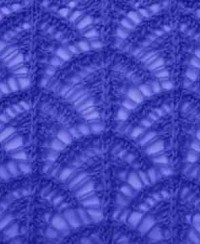 Lace Knitting Stitch Pattern