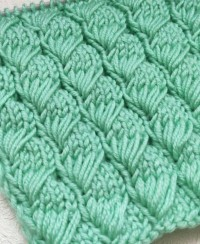 Long Loop Stitch Knitting Pattern