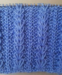Wheat Ear Loop Stitch Pattern