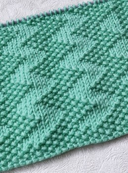 Zigzag Stitch Knitting Pattern