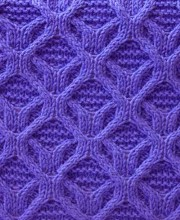 Cable Knit Stitch Pattern