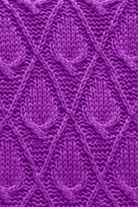 Diamond Knit Stitches