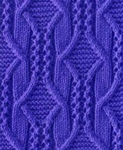 Diamond Knit Stitch