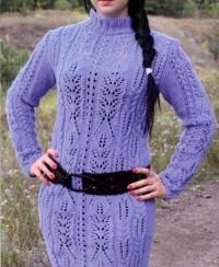 Dress in Lace Patterns