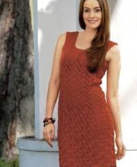 Dress with Fancy Pattern
