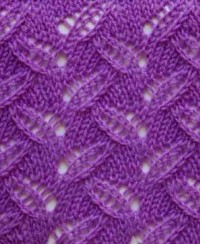 Eyelet Knitting Stitch Pattern
