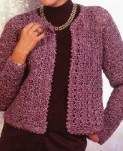 Womens Jacket (Crochet)