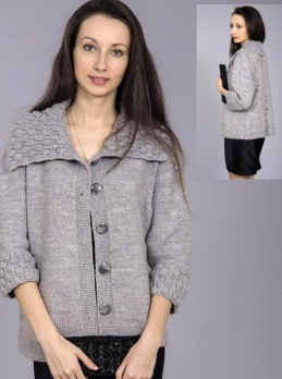 Wide Collar Jacket