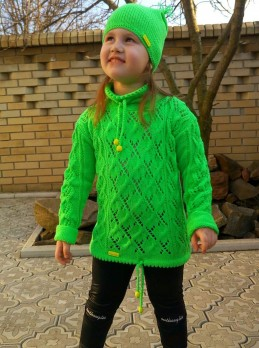 Children's Knitset: Hat and Pullover