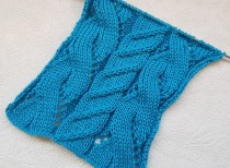 Cable Lace Stitch Knitting Pattern