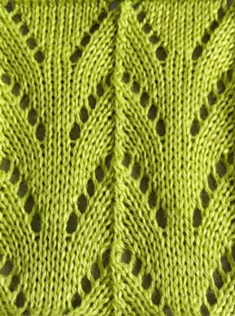 Lace Knit Stitch Pattern