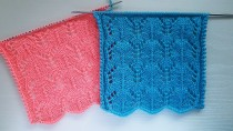 Easy Lace Knitting Stitch