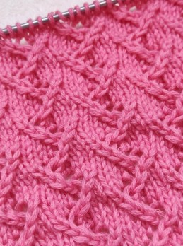 Lace Stitch Knitting Pattern