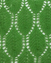 Leaf Lace Stitch Pattern