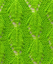 Leaf Stitch Pattern