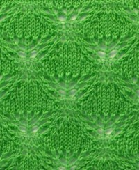 Leaf Knit Pattern