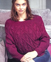 Pullover with Low Sleeves