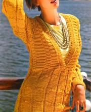 Pullover with Butterfly Pattern