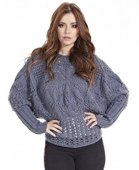 Pullover in Fancy Pattern