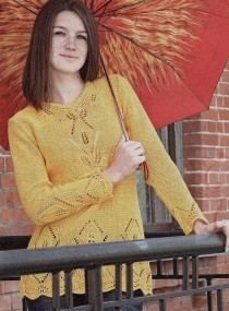 Pullover with Lace Pattern