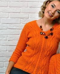 Pattern Mix Pullover