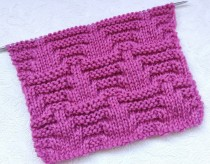 Relief Stitch Knitting Pattern