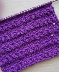 Relief Stitch Knitting