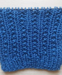 Easy Relief Stitch Knitting Pattern