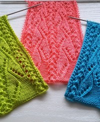 Lace Knitting Pattern for round yoke