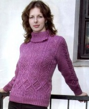 Sweater in Pattern Mix