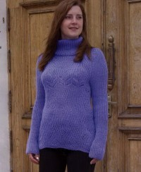 Sweater in Half Brioche Stitch