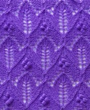Tulip Knit Stitch Pattern