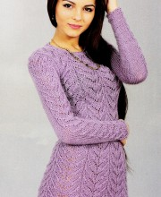 Tunic in Lace Pattern