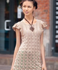 Tunic in Zig-zag Pattern
