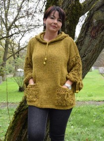Hooded Tunic with Pockets
