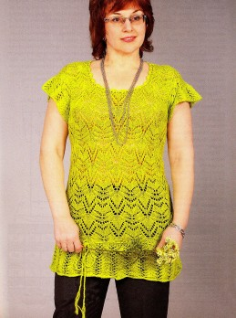 Summer Tunic in Lace Pattern