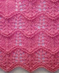 Wavy Knitting Stitch Pattern